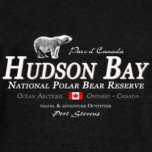 Polar Bear - Bear - Hudson Bay - Canada Long Sleeve Shirts - Women's Wideneck Sweatshirt