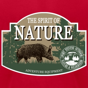 Boar -  Nature -  Hunting -  Hunter T-Shirts - Men's T-Shirt by American Apparel