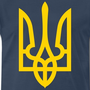 Ukraine Coat of Arms Shirt - Men's Premium T-Shirt
