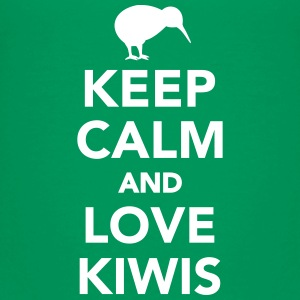 Keep calm and love kiwis Kids' Shirts - Kids' Premium T-Shirt