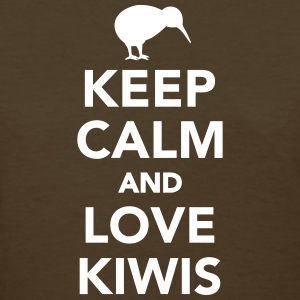 Keep calm and love kiwis Women's T-Shirts - Women's T-Shirt