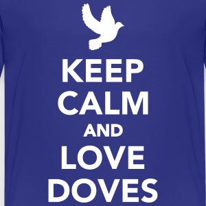 Keep calm and love Doves Kids' Shirts - Kids' Premium T-Shirt