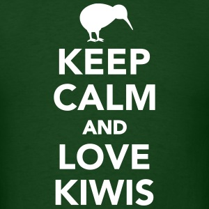Keep calm and love kiwis T-Shirts - Men's T-Shirt
