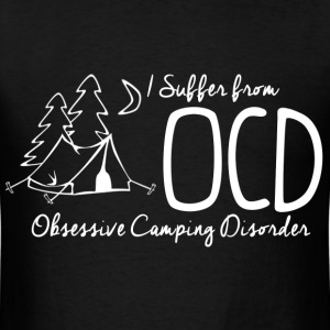 OCD - Camping T-Shirts - Men's T-Shirt