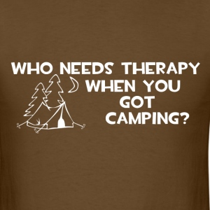Who Needs Therapy T-Shirts - Men's T-Shirt