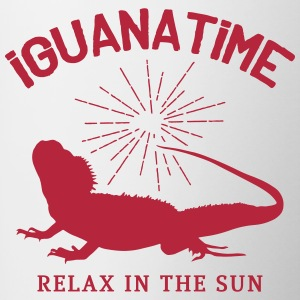 Iguana Time Mugs & Drinkware - Contrast Coffee Mug