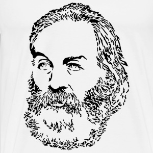 Walt Whitman T-Shirts - Men's Premium T-Shirt