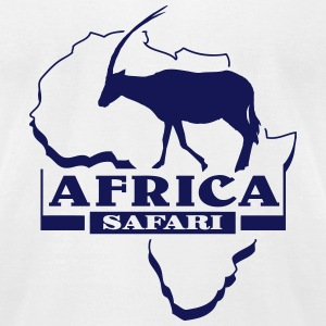 Antelope  - Africa - Safari T-Shirts - Men's T-Shirt by American Apparel