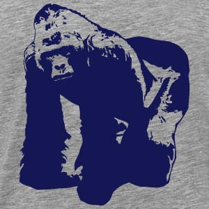 Gorilla - Monkey - Africa - Safari T-Shirts - Men's Premium T-Shirt