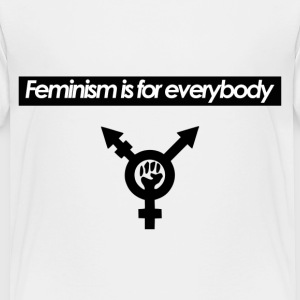 Feminism is for Everybody - Toddler Premium T-Shir - Toddler Premium T-Shirt