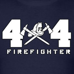 4X4 FIREFIGHTER - Men's T-Shirt