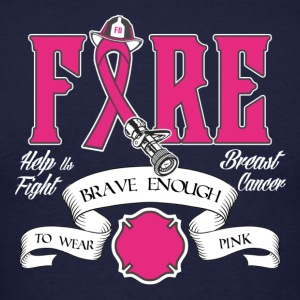 FD-PINK-ribbon T-Shirts - Men's T-Shirt
