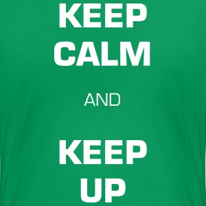 13.1 Keep Calm & Keep Up - Women's Premium T-Shirt