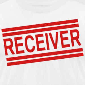 RECEIVER T-Shirts - Men's T-Shirt by American Apparel