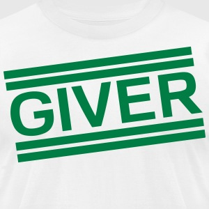 GIVER T-Shirts - Men's T-Shirt by American Apparel