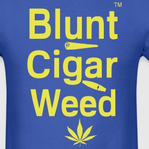 Blunt Cigar & Weed T-Shirts - Men's T-Shirt
