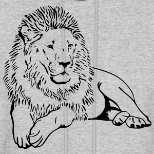 Lion - Africa - Safari Hoodies - Men's Hoodie