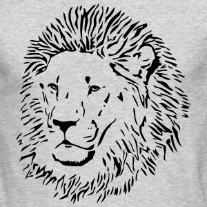 Lion - Africa - Safari Long Sleeve Shirts - Men's Long Sleeve T-Shirt by Next Level