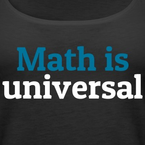 Math is universal Tanks - Women's Premium Tank Top