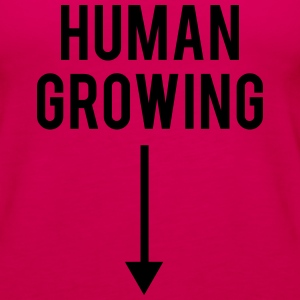 Human Growing - TCULTURE Tanks - Women's Premium Tank Top