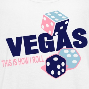 VEGAS THIS IS HOW I ROLL - Women's Flowy Tank Top by Bella