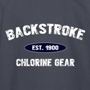 Backstroke est. 1900 Kids' Shirts - Kids' Long Sleeve T-Shirt