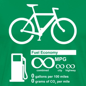 Bicycle Infinity MPG Fuel Economy - Men's Premium T-Shirt