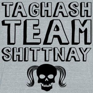Team Shittnay - MPGIS T-Shirts - Unisex Tri-Blend T-Shirt by American Apparel