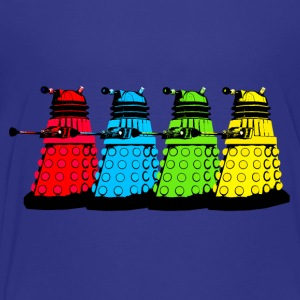 Dalek Four Colours Kids' Shirts - Kids' Premium T-Shirt