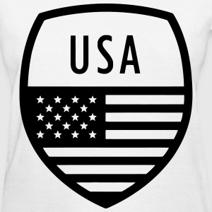 Insignia USA Above Flag - Women's T-Shirt