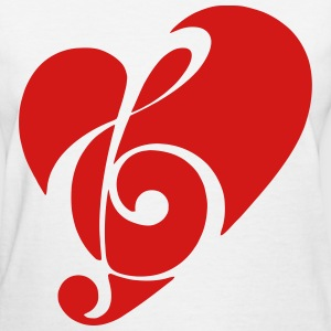 Music in the Heart - Women's T-Shirt