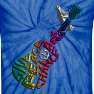 Give Peace A Chance T-Shirts - Unisex Tie Dye T-Shirt