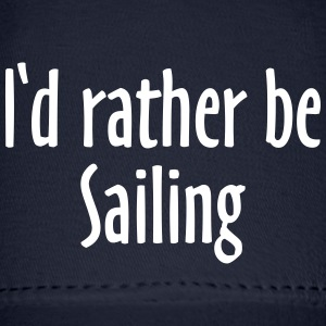 I'd rather be sailing Baseball Cap (Blue/White) - Baseball Cap