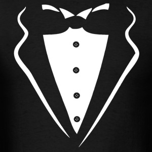 TUXEDO SMOKING SHIRT - Men's T-Shirt