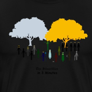 The Silmarillion in 3 Minutes T-Shirts - Men's Premium T-Shirt