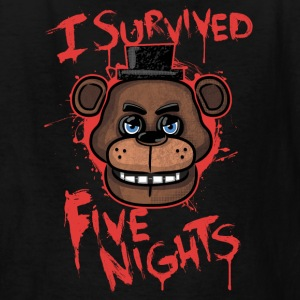 I Survived Five Nights - Kids' T-Shirt