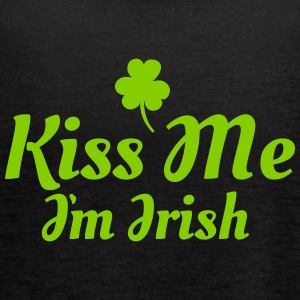 kiss me i'm irish excellent Tanks - Women's Flowy Tank Top by Bella