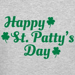 happy st patty's day Long Sleeve Shirts - Crewneck Sweatshirt
