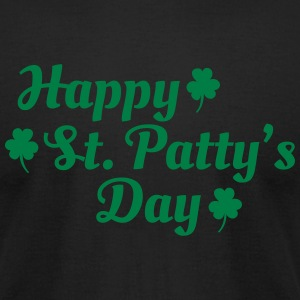 happy st patty's day T-shirts - T-shirt pour hommes American Apparel