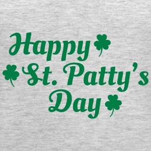 happy st patty's day Tanks - Women's Premium Tank Top
