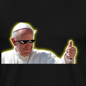 Deal With POPE - Men T-Shirt - Men's Premium T-Shirt