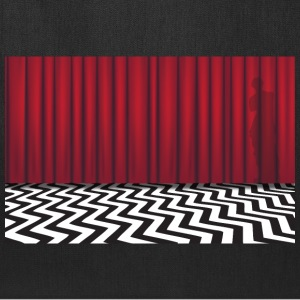 Black Lodge Red Room - Tote Bag