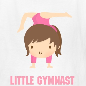 Cute Gymnast Girl Pink Kids' Shirts - Kids' T-Shirt