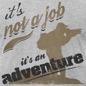 photography t-shirt tshirt : it's not a job it's a - Men's T-Shirt by American Apparel
