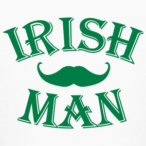 irish man / irish man mustache Kids' Shirts - Kids' Long Sleeve T-Shirt