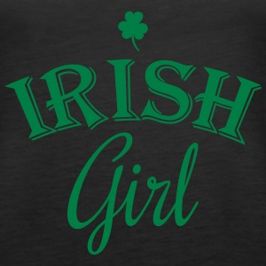 irish girl clover Tanks - Women's Premium Tank Top