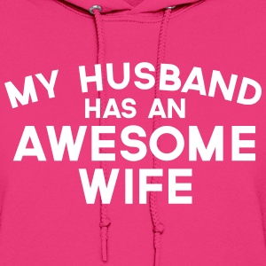 Husband Awesome Wife  Hoodies - Women's Hoodie