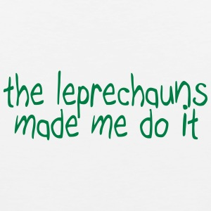 the leprechauns made me do it Sportswear - Men's Premium Tank