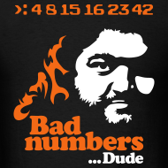 Design ~ LOST: Bad Numbers... Dude