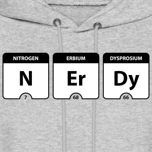 Nerdy Periodic Table Hoodies - Men's Hoodie